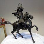 Samouraï en bronze